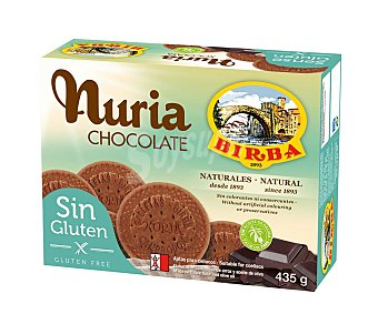 Nuria Galletas de chocolate sin gluten 435 g