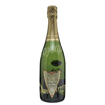 Reyes de Aragón Cava brut nature  botella 75 cl