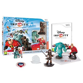 Disney Videojuego Starter Pack Disney Infinity para Wii 1 Unidad