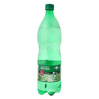Carrefour Agua mineral con gas 1,25 l