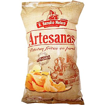 Don Sancho Melero Patatas fritas artesanas en perol bolsa 250 g Bolsa 250 g