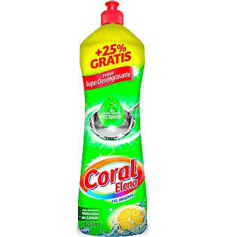 Coral Lavavajillas manual 1250 ML
