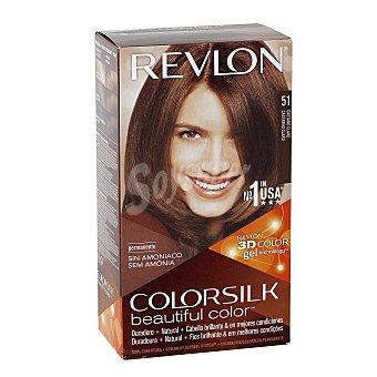 Revlon Tinte Castaño Claro nº 51 permanente y sin amoniaco Caja 1 unidad
