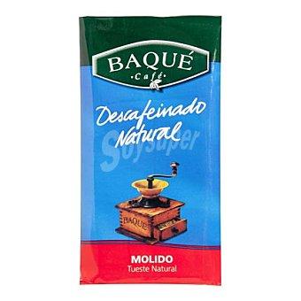 Café Baqué Café descafeinado natural molido 250 g