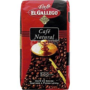 El Gallego Aromas del Caribe Café Natural en Grano 100% Arábico Paquete 500 g