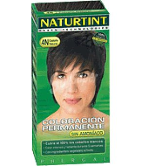 Naturtint Coloración permanente castaño natural Nº4 1 ud