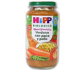 HiPP Biológico Tarrito de verduras con pasta y pollo desde los 12 meses envase 250 g