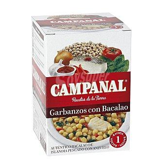Campanal Garbanzos con bacalao Lata 425 g