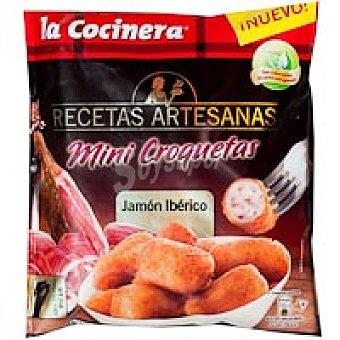 La Cocinera Mini croquetas de jamón Bolsa 450 g