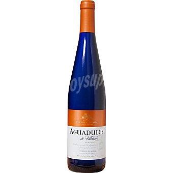 Aguadulce de villalua Vino blanco semidulce de Andalucia botella 75 cl Botella 75 cl