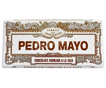 Pedro Mayo Chocolate a la taza Tableta 200 g