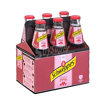 Schweppes Tonica pink Pack 6 x 250 ml