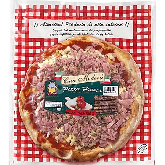 CASA MODENA Palermo Pizza fresca artesana prosciutto Envase 320 g