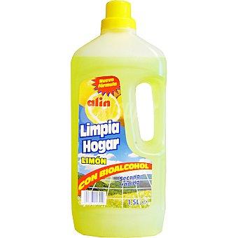 ALIN Limpiador limón con bioalcohol Botella 1,5 l