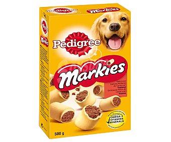 Pedigree Markies Galletas rellenas de carne de tuétano para perros 500 gr