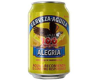 Águila Cerveza Colombiana Lata de 33 Centilitros