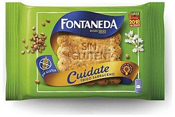 Fontaneda Galleta trigo sarraceno sin gluten cuídate Estuche 240 g