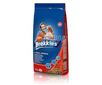 Brekkies Affinity de buey con pollo y arroz para perro Bolsa 15 kg