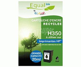Equalink Cartuchos Reciclados de Tinta H350 Negro 1u