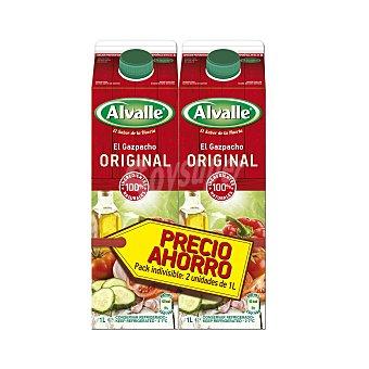 Alvalle Gazpacho original Pack 2 u x 1 l