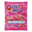 Golosinas espagueti fresa Paquete 250 g King Regal