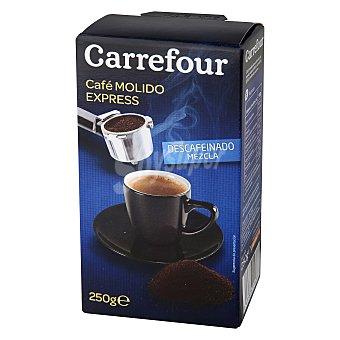 Carrefour Café Molido Expresso descafeinado 250 g