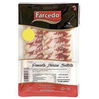 Farcedo Panceta ibérica bellota en lonchas sin gluten 70 g