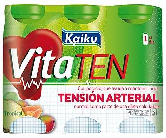 Kaiku Vitaten Tropical Ayuda a controlar la ''tensión Arterial'' Pack de 6x70 g