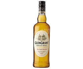 Glen Grant Whisky Single Malt de 5 Años Botella 70 Centilitros