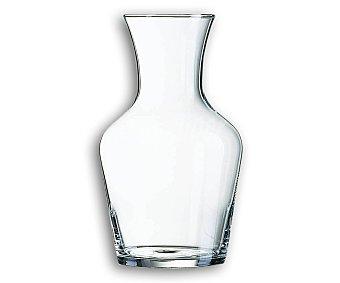 PRODUCTO ECONÓMICO ALCAMPO Jarra garrafa con capacidad de 1 litro, fabricada en vidrio transparente 1 Unidad