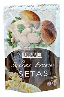 Hacendado Salsa fresca setas Sobre 200 g