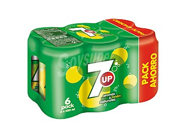 Seven up Refresco c/gas lima limon lata 33CLX6 Ud