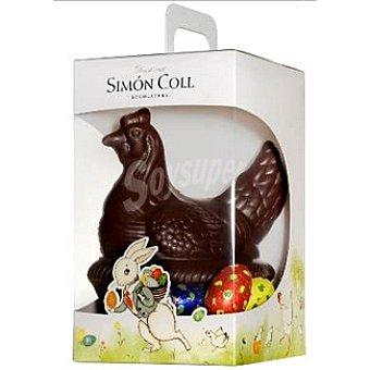AMATLLER gallina Pascua de chocolate negro estuche 295 g