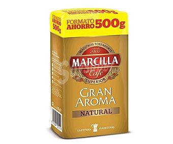Marcilla Café Molido Natural Gran Aroma Pack 2x250