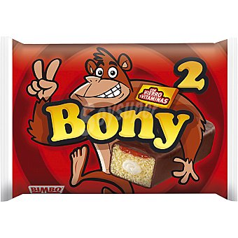 BIMBO Bony  2 unidades paquete de 110 gr