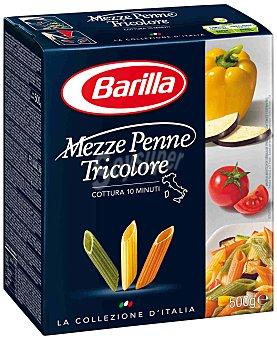 BARILLA Mezze Penne Tricolore caja 500 gr