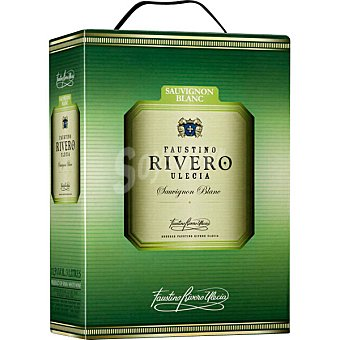 FAUSTINO RIVERO ULECIA vino blanco sauvignon  envase 3 l