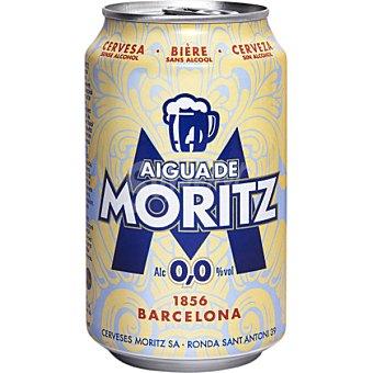 Mortiz Aigua de Moritz Cerveza sin alcohol 0,0 lata 33 cl