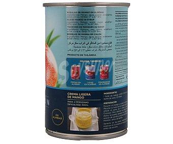 Juver Rodajas de mango en almíbar 235 gramos
