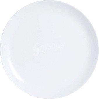 LUMINARC Diwali Plato llano en color blanco 25 cm