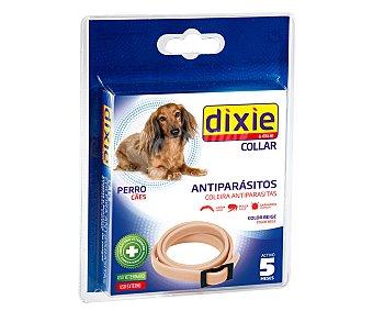 Dixie Collar antiparásitos para perros de color beige 1 unidad