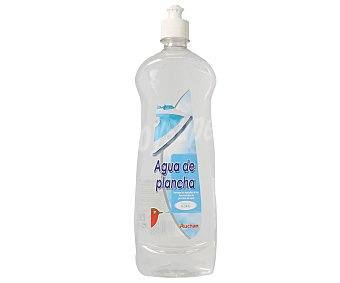 Auchan Agua de plancha, aroma frescor floral 1 litro