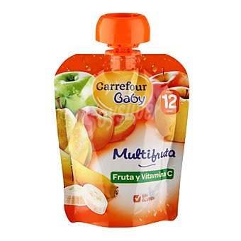 Carrefour Baby Compota multifruta 90 g