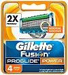 Fusion proglide Power Cuchillas 4 unidades Gillette Fusion Proglide