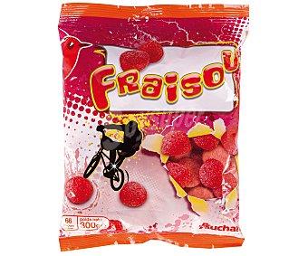 Auchan Caramelos de goma aromatizadas Fraisou 300 gramos