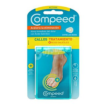 Compeed Apositos callos tratamiento entre dedos 6 ud