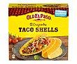 Tacos Shells, aperitivos fritos de maíz 12 uds. 156 g Old El Paso