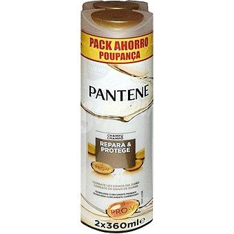Pantene Pro-v Champú repara & protege 2 frascos de 360 ml