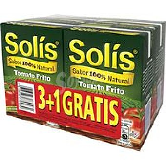 Solís Tomate frito Pack 3+1 unid