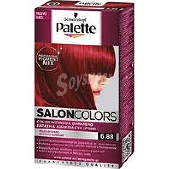 Palette Schwarzkopf Tinte rojo intenso N.6.88 SALON COLORS Caja 1 unid